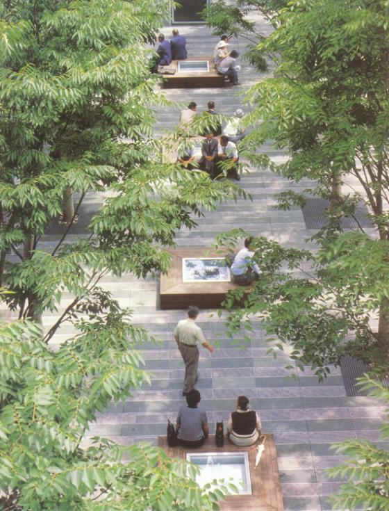 上海古城公园规划外部实景图-上海古城公园规划第7张图片