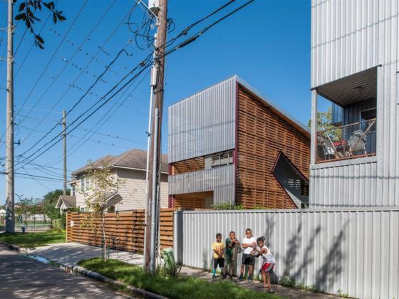 美国盒式变色龙住宅第1张图片