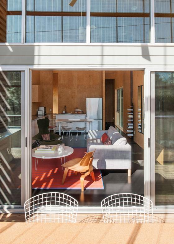 美国盒式变色龙住宅外部实景图-美国盒式变色龙住宅第5张图片