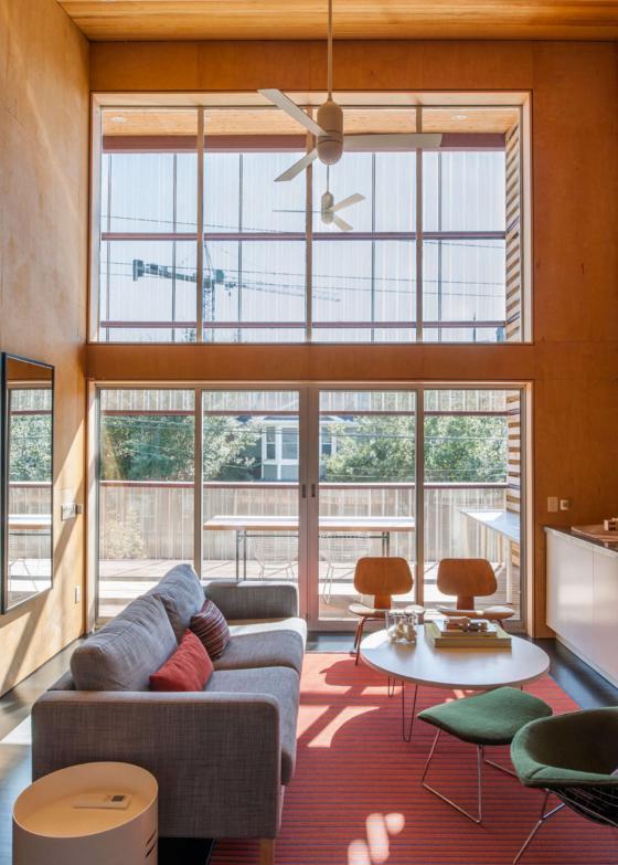 美国盒式变色龙住宅内部实景图-美国盒式变色龙住宅第7张图片