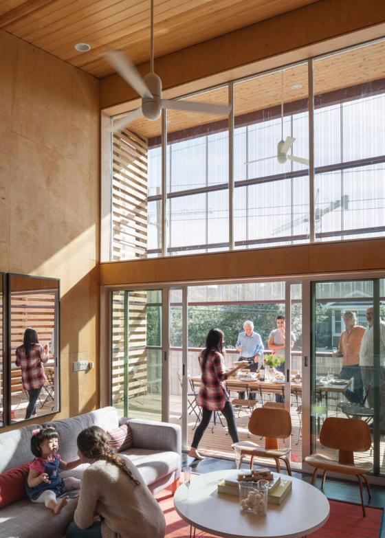 美国盒式变色龙住宅内部实景图-美国盒式变色龙住宅第8张图片