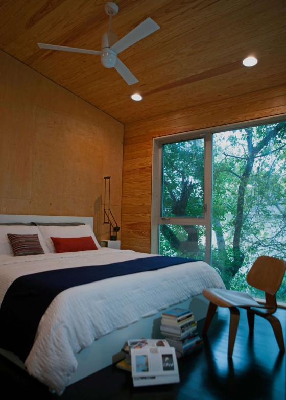 美国盒式变色龙住宅内部实景图-美国盒式变色龙住宅第11张图片