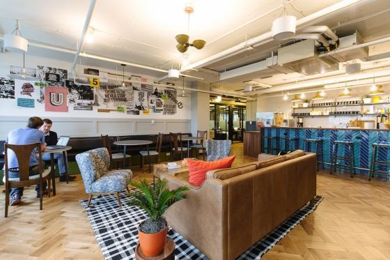 美国WeWork联合办公空间室内实景-美国WeWork联合办公空间第6张图片