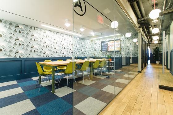 美国WeWork联合办公空间室内实景-美国WeWork联合办公空间第8张图片