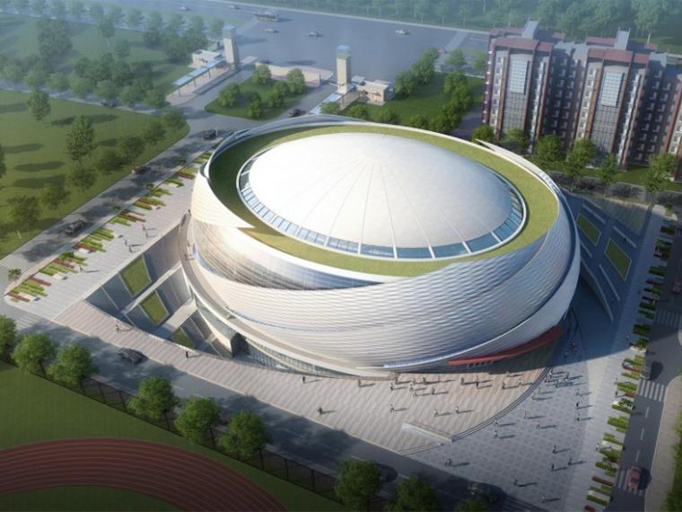 北京建筑大学体育馆