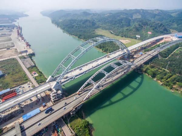 邓州市某桥梁施工图设计(毕业设计,内容完整,格式规范)