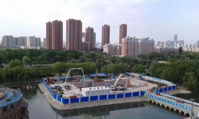 中建六局首个盾构法施工综合管廊隧道全部贯通_7