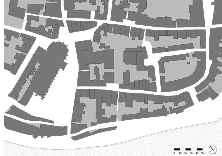 全新代芬特尔市综合体建筑平面图 (15)