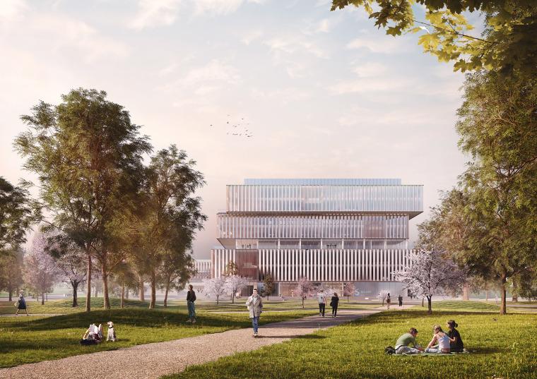 比利时可持续的Solvay国际办公总部-3