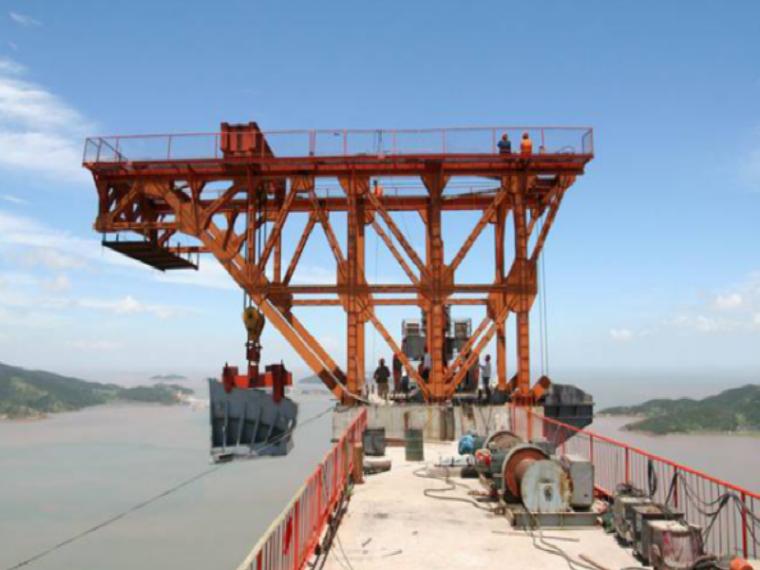 [浙江]特大型跨海桥缆索系统架设施工方案