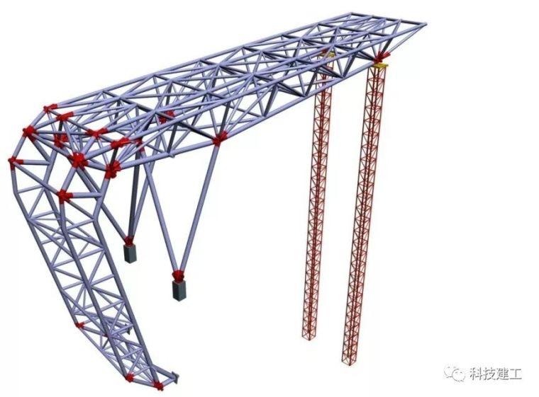 体育场径向环形大悬挑钢结构综合施工技术研究_14