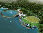 [浙江]宁波东钱湖景区南岸线项目水上花园、阳光水岸概念方案