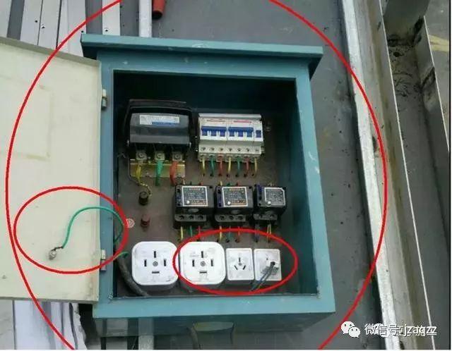总结的太好了!建筑施工现场临时用电常见隐患、错误做法都在这呢_22