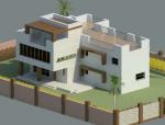 BIM模型-revit模型-小别墅模型