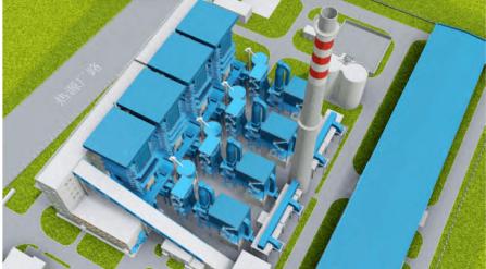 BIM技术助力中机六院实施南郊热源厂集中供热工程项目