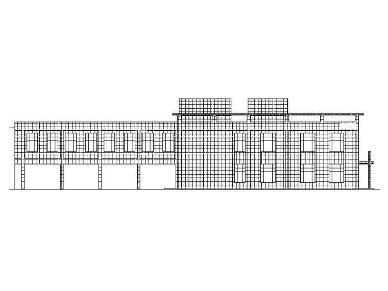 [宁夏]现代产品加工厂房建筑施工图