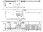 停车场水景墙景观节点施工图