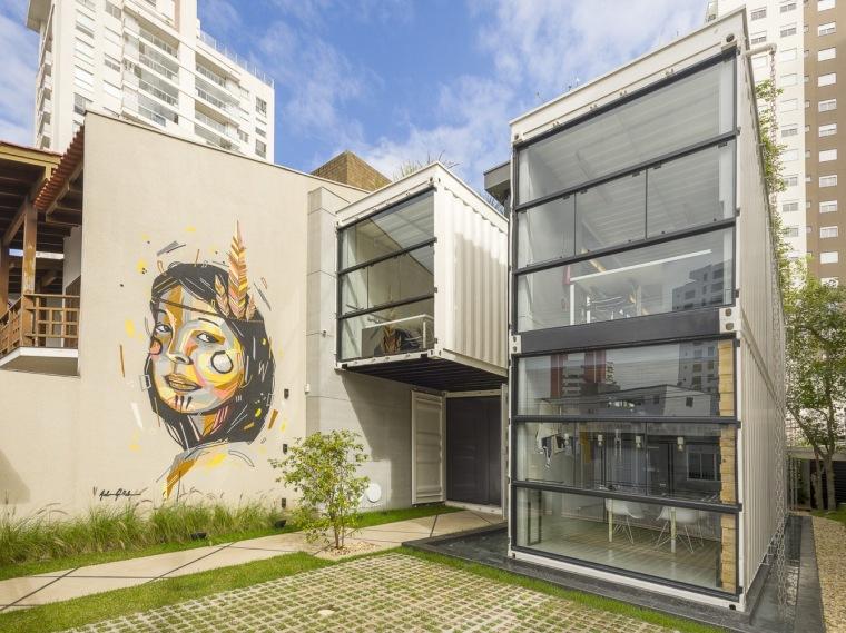 巴西Container建筑