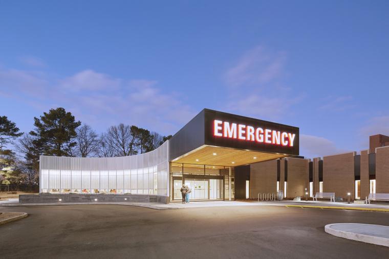 美国Methodist South医院急诊室加建