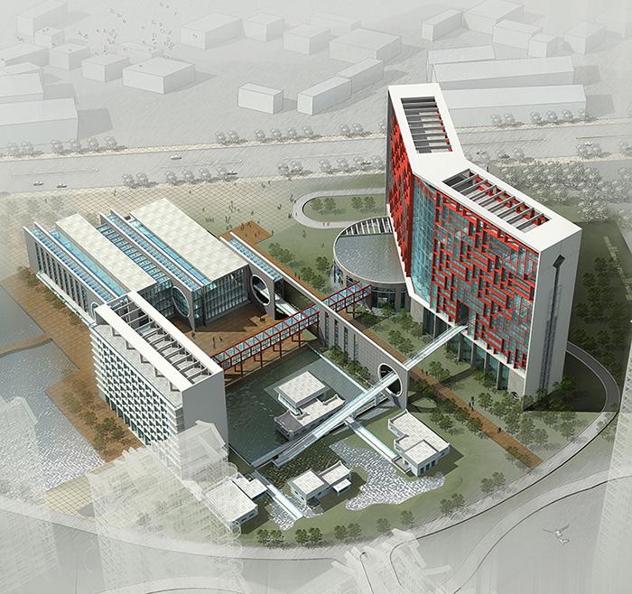 粒米设计·云建筑|万科·珠宾花园设计方案