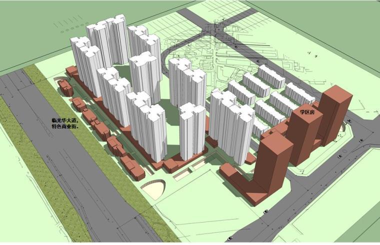 [四川]成都某兴光华-御领光华居住区建筑方案设计文本(包含PPT+82页)