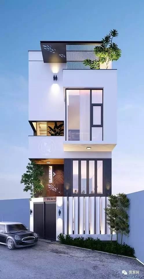 40款·简洁的现代别墅设计_6