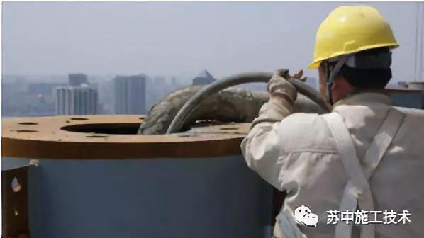 钢管柱高抛自密实混凝土辅助性振捣施工技术_5