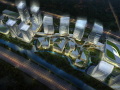 [江苏]花桥互联金融产业园建筑设计方案文本(AECOM设计)
