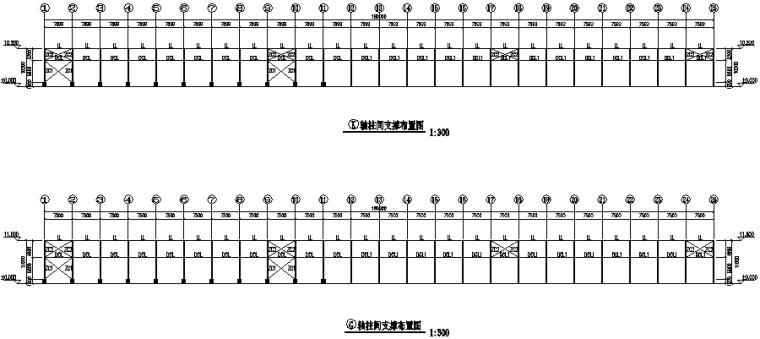 63×180门式刚架厂房施工图(CAD,18张)_6