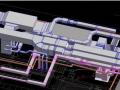 REVIT建模設備專業復制參考鏈接建筑模型及CAD圖紙