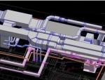 REVIT建模设备专业复制参考链接建筑模型及CAD图纸