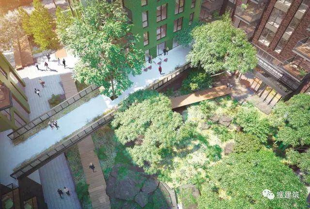 """27米长的""""空中泳池"""",在两栋大楼的第10层连接在一起,中间完全_51"""