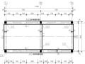 砖木结构中小学教学平房抗震加固施工图