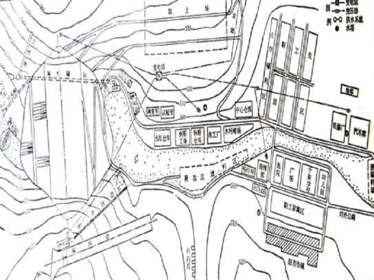 水库施工进度计划及总体布置ppt版(共31页)
