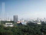 [深圳]交错水平板大学研发办公大楼建筑设计方案文本