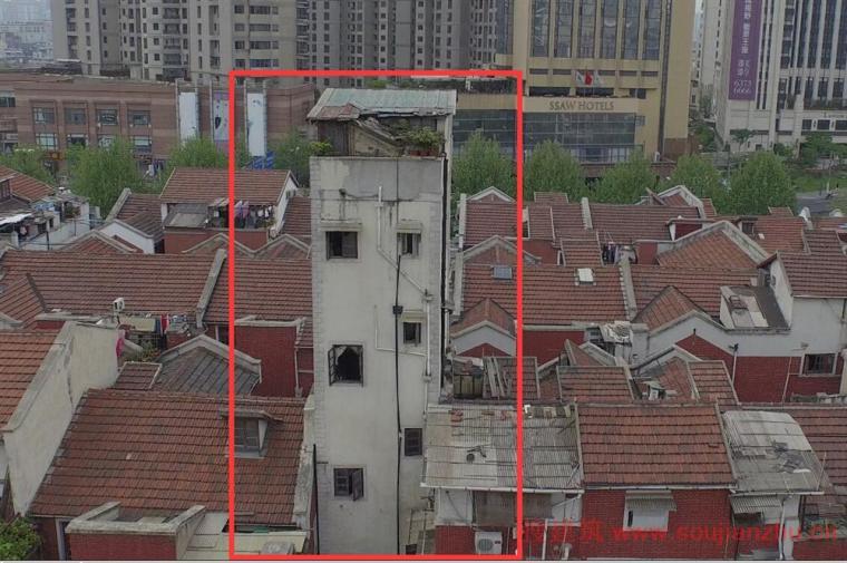 """39平米蜗居变""""空中别墅""""过程!成上海闹市的风景线!"""