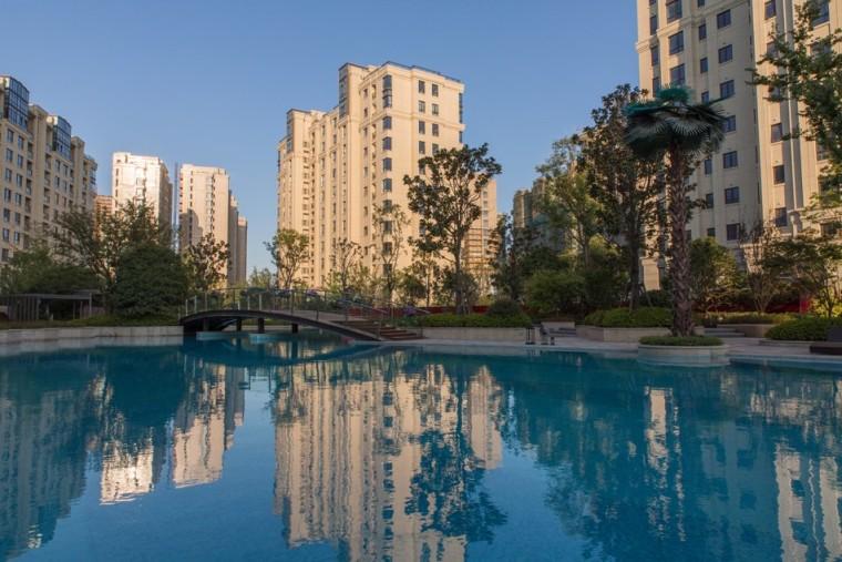 上海仁恒东郊花园景观