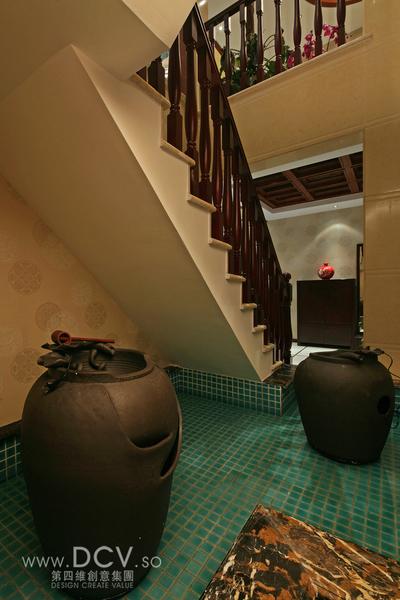 西安具有东方韵味得别墅设计-绿地世纪城样板间_7
