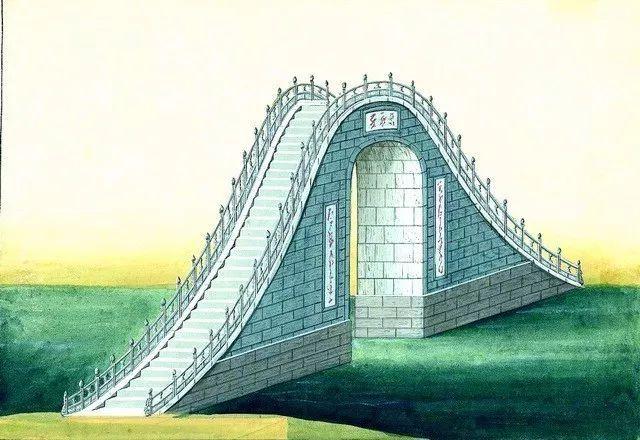 另一个视角:外国人画笔下的中式古典建筑_12