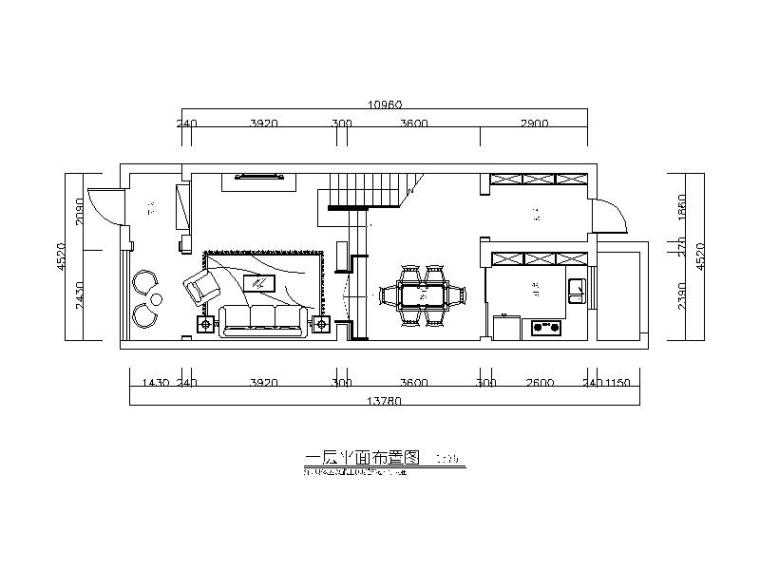 美式田园-别墅建筑设计CAD施工图(含效果图)