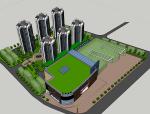 某商业建筑模型设计