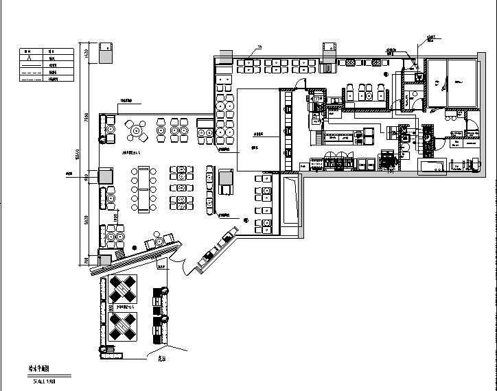 [广州]汉堡王凯德广场店施工图(设计方案、机电)
