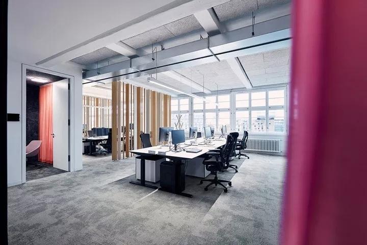 软件公司Mozilla总部办公空间