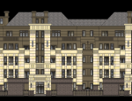 岛屿墅风格住宅建筑设计SU模型