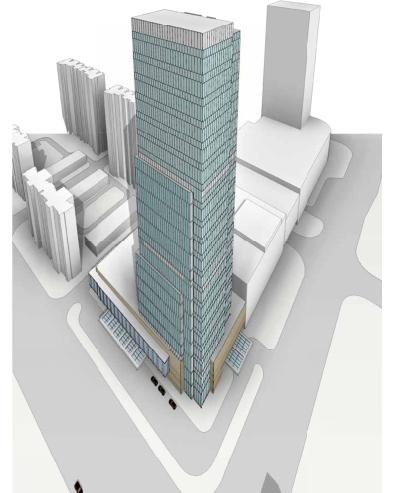 济南200多米超高层天力洲际酒店建筑设计方案文本