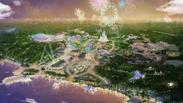 [BIM案例]迪士尼旅游度假区,鲁班BIM平台助力项目群统一管理