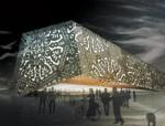 2010上海世博会波兰馆建筑初步设计图