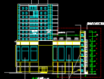 高层新东方百货大楼建筑施工图