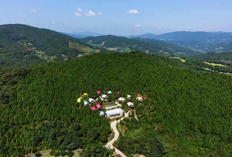 韩国极简豪华的高尔夫度假村