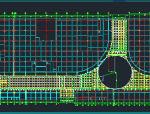 时代广场步行街屋顶钢结构施工图